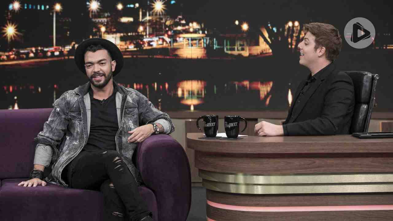 Thiago Brava e Fábio Porchat (Foto: Antonio Chahestian/Record TV)