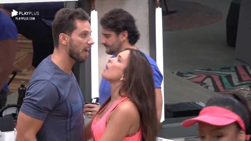 Eliéser discute feio com Mariana Felício, mas é contido por Kamilla Salgado, Power Couple Brasil