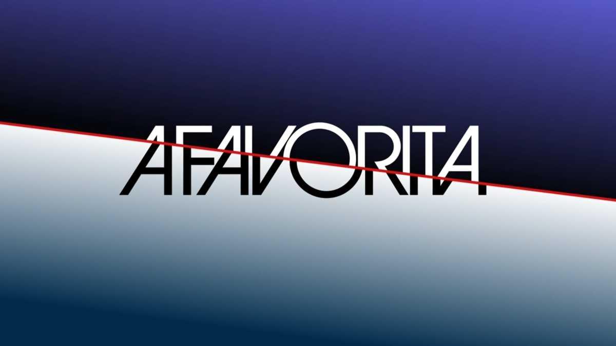 Logo da novela A Favorita