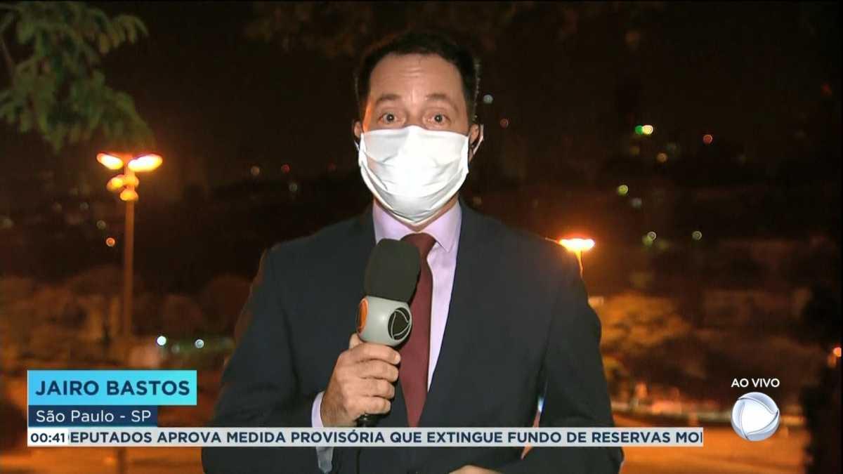 Jairo Bastos no Jornal da Record