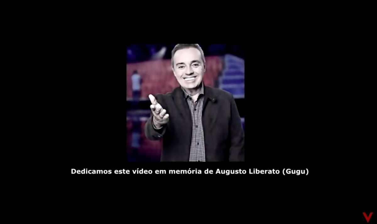 Gugu Liberato é homenageado no clipe