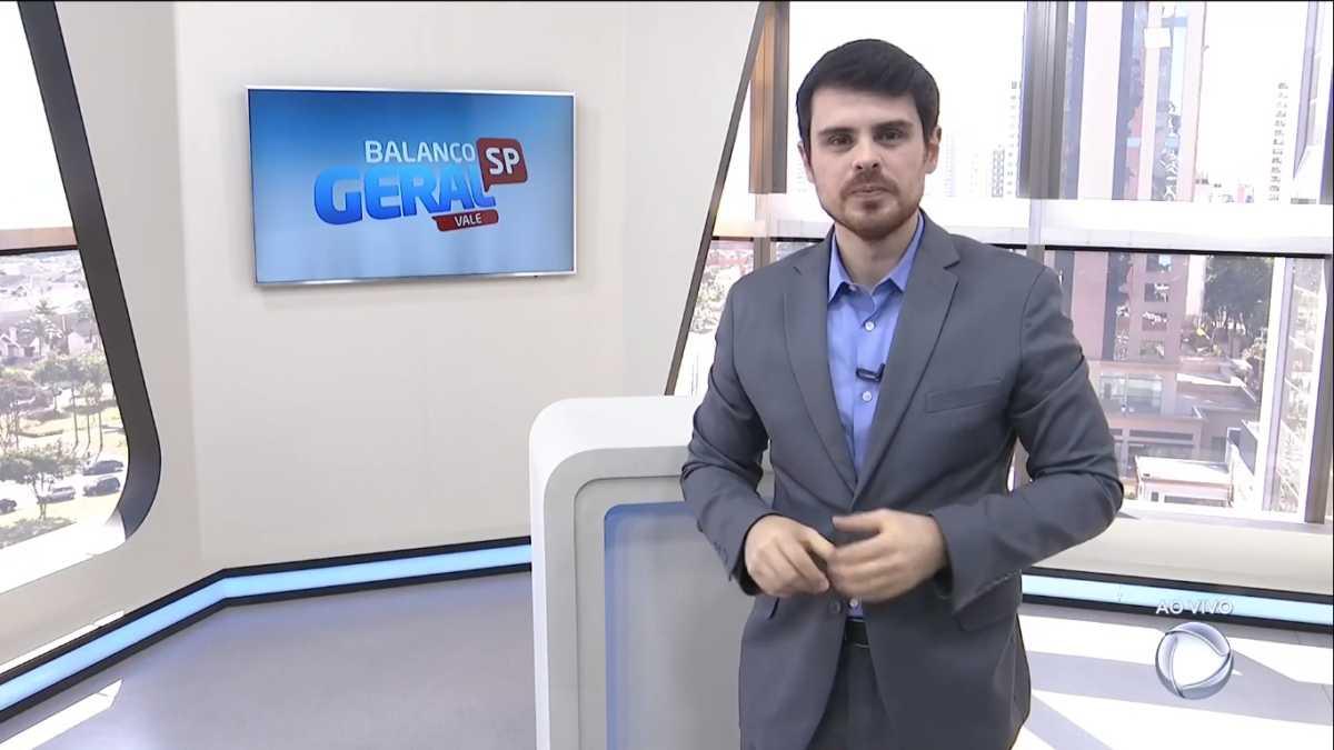 Alexandre Furtado durante apresentação do Balanço Geral Vale