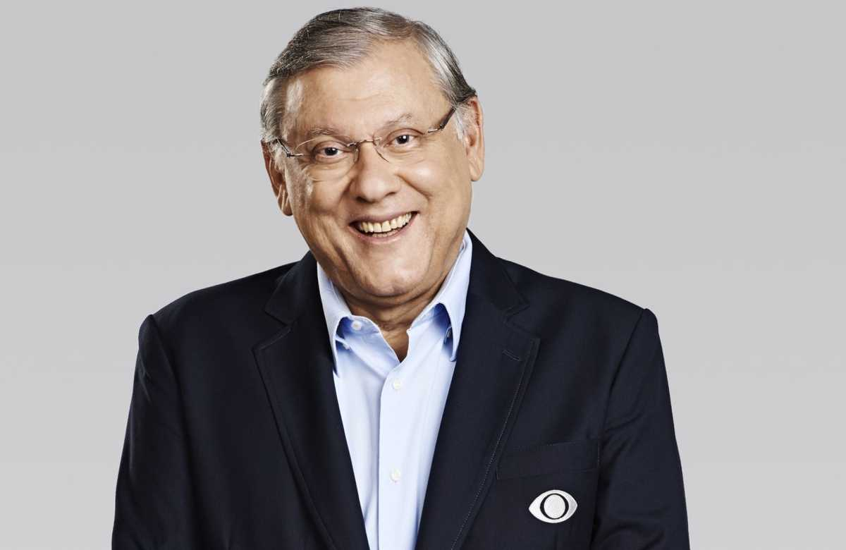 apresentador Milton Neves