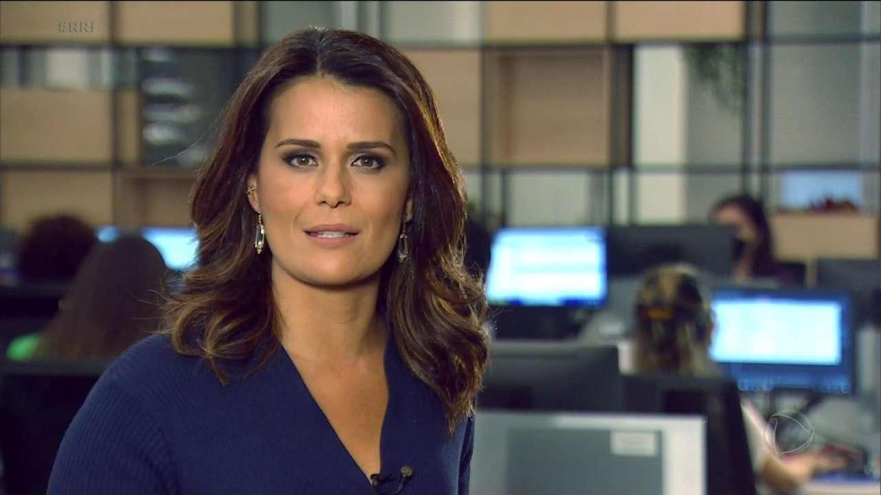 Adriana Araújo a estreia do Repórter Record Investigação