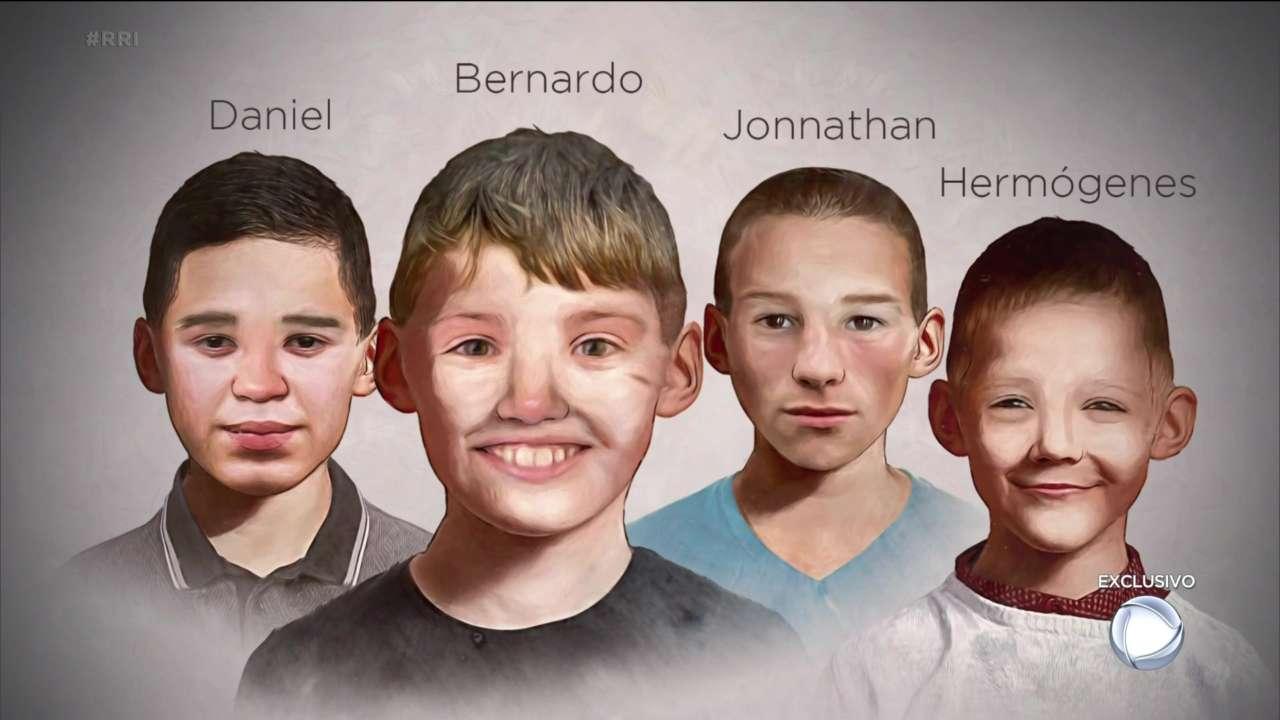Rostos de algumas vítimas de Francisco das Chagas foram redesenhados pela Record TV