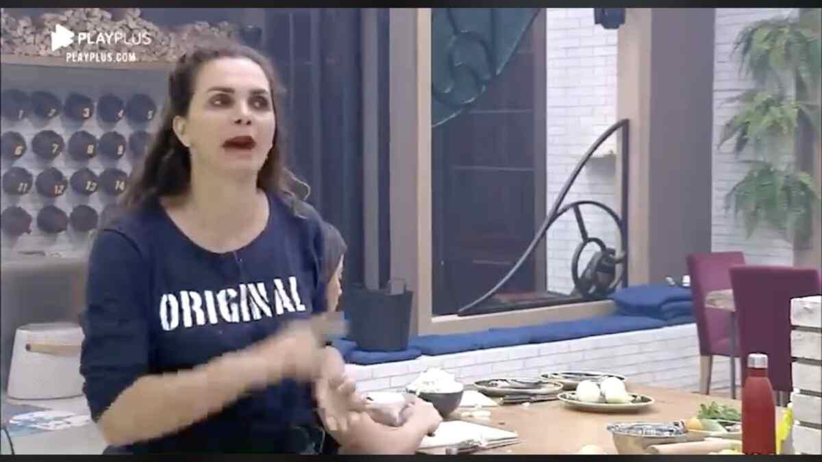 Luiza Ambiel não aceita pedido de desculpas de Jakelyne Oliveira