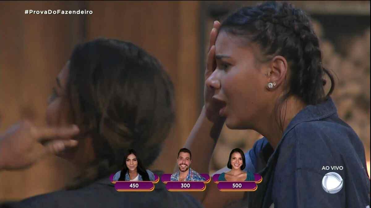 Jakelyne Oliveira fica em choque ao vencer a Prova do Fazendeiro