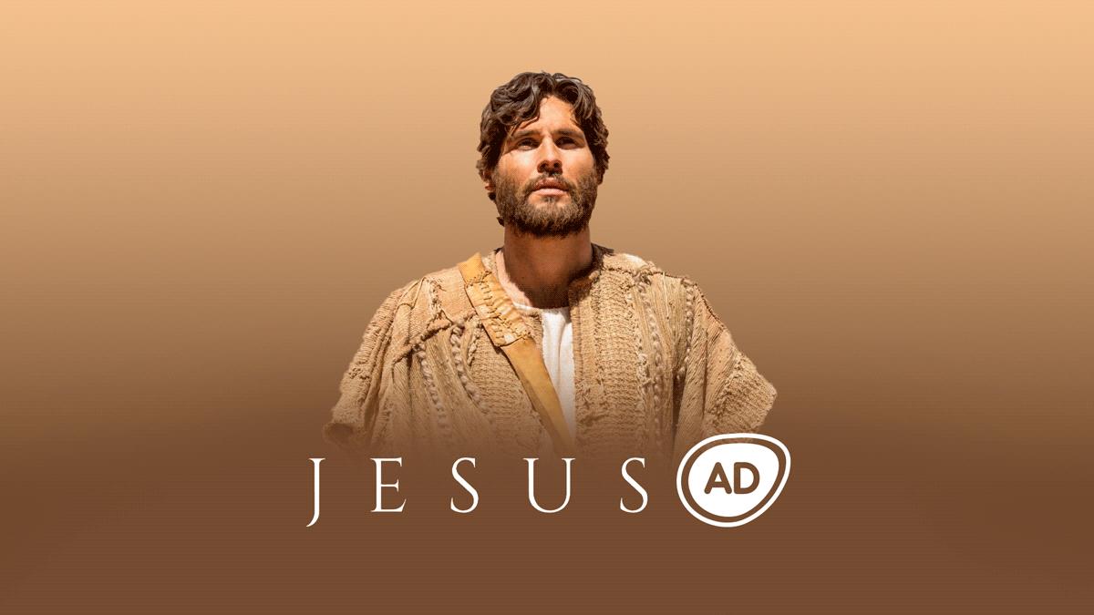 Logo do Resumo da novela Jesus