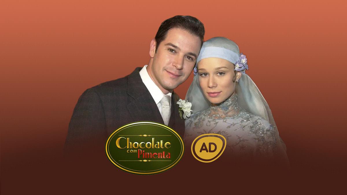 Logo do resumo da novela Chocolate Com Pimenta