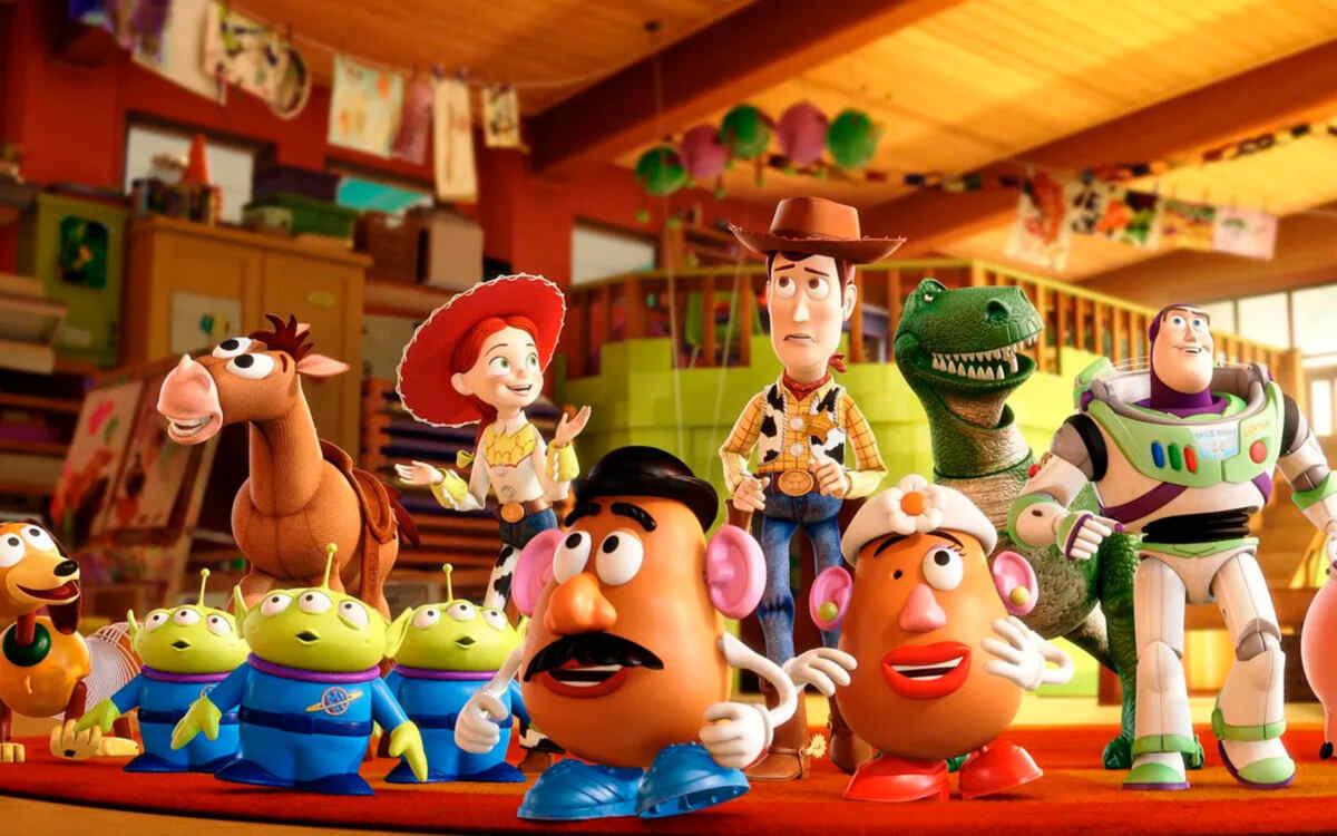 Trecho do filme Toy Story 3